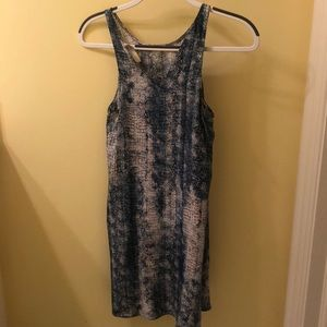 Rory Becca silky cocktail dress.